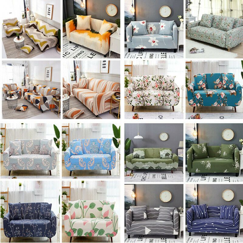 1 4 Seats Modern Sofa Cover Washable Couch Slipcover Elastic Furniture Protector Sofa Slipcover Slipcovered Sofa Couch Covers Slipcovers Fabric Sofa Cover