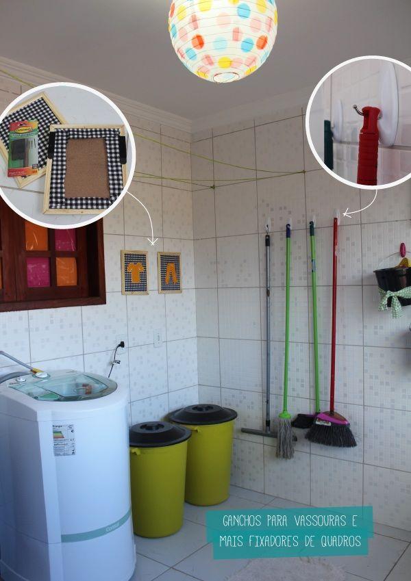 organiznado e decorando a area de servico 4