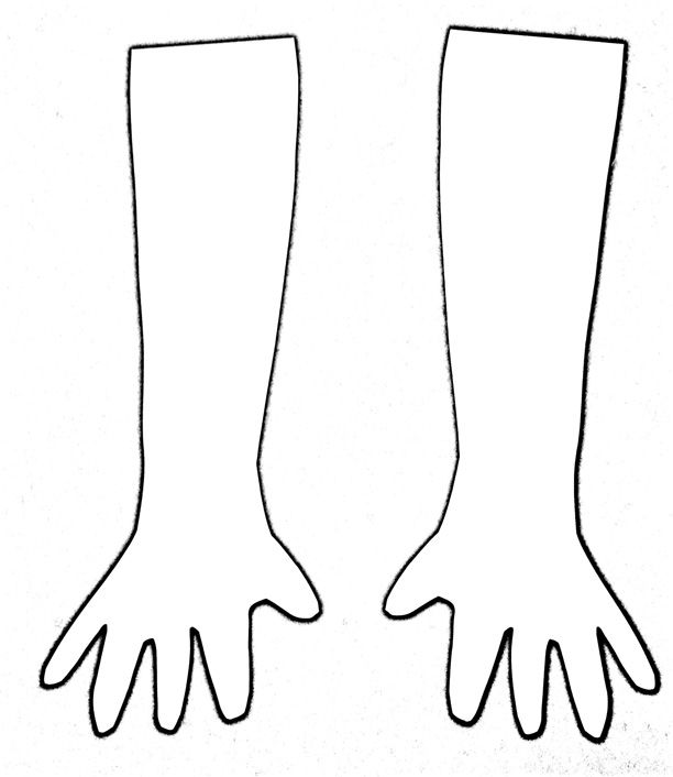 arm coloring pages - photo#11