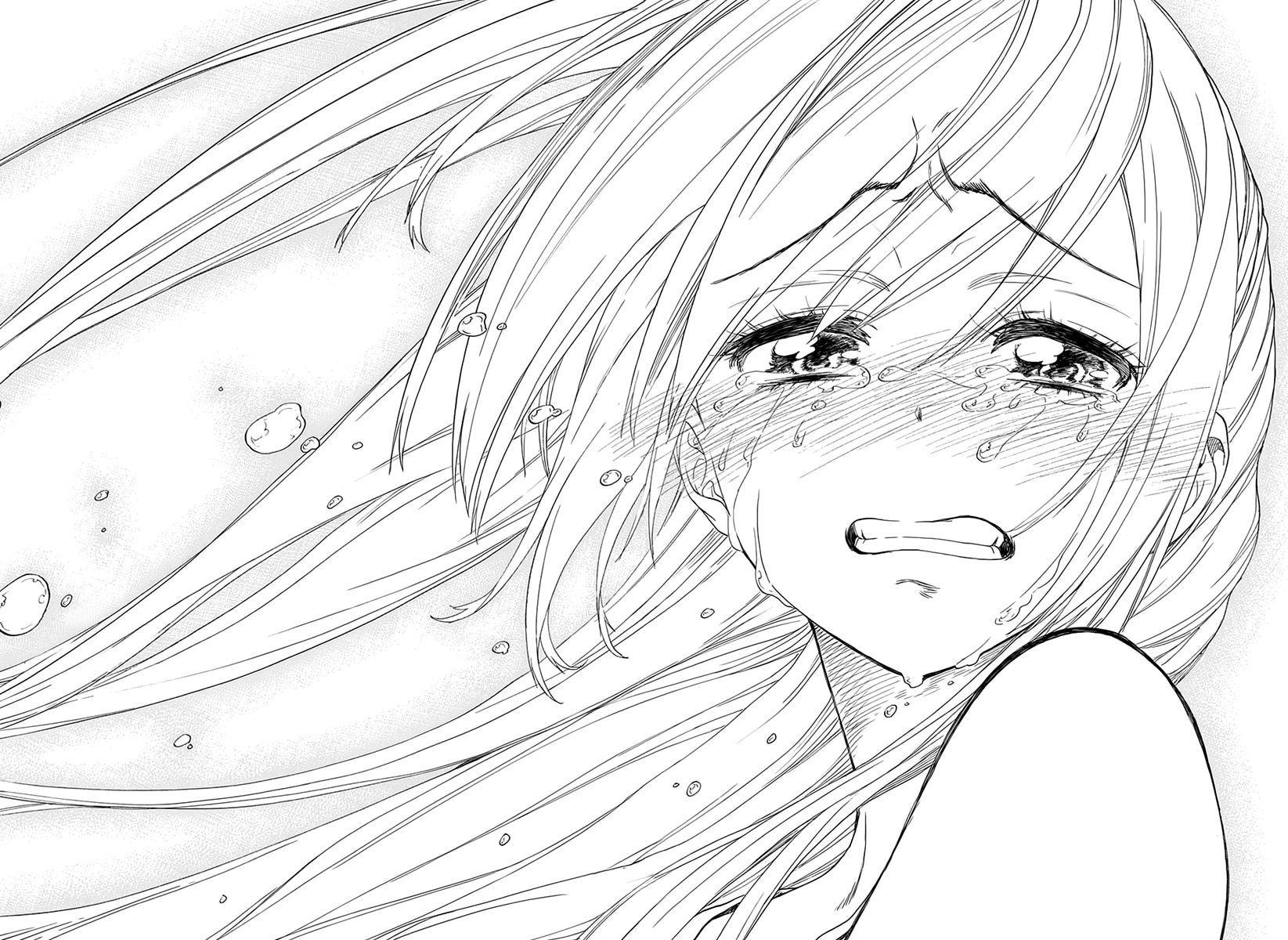Nisekoi (komi Naoshi) 227 Page 17 More · Sad Animeanime Artanime Girl  Cryingmanga