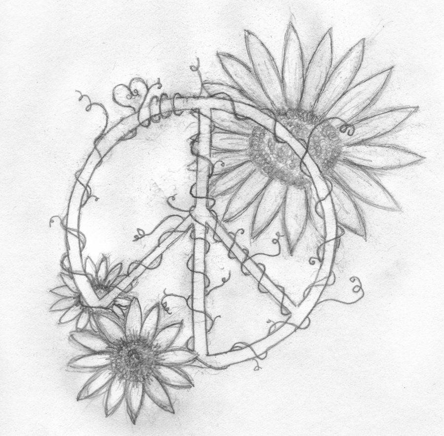Peace by echorai tattos pinterest peace tattoo and tatting