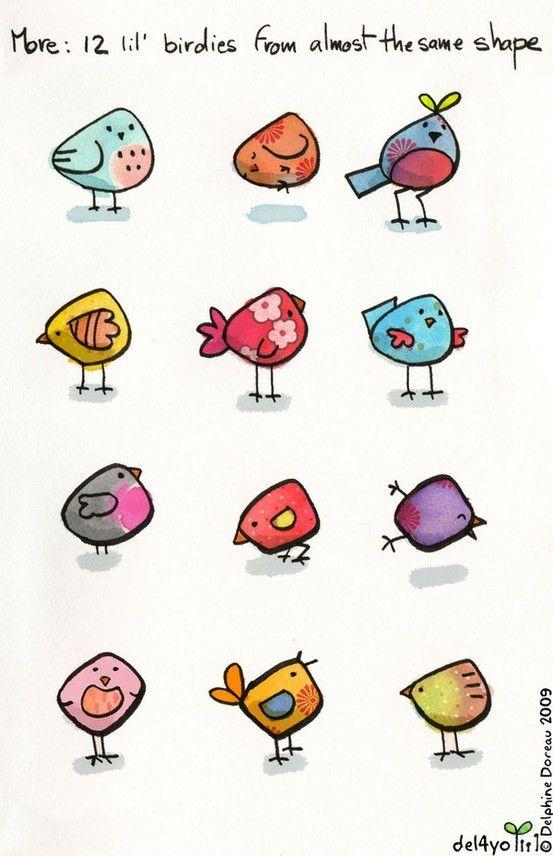3 Easy Diy Storage Ideas For Small Kitchen: Cute Lil Birdies By Eyesmalone