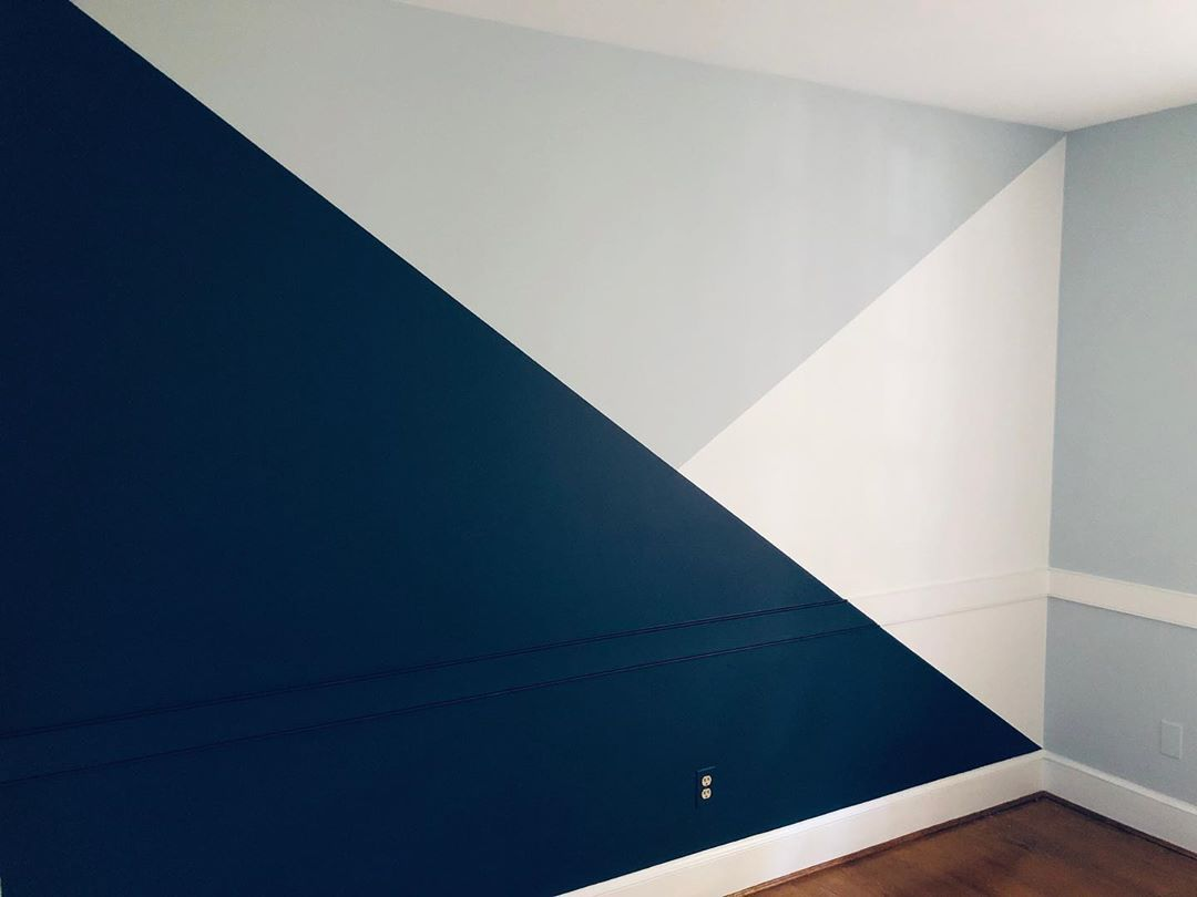 Take Your Nursery Paint Project Up A Notch With A Tri Tone Accent