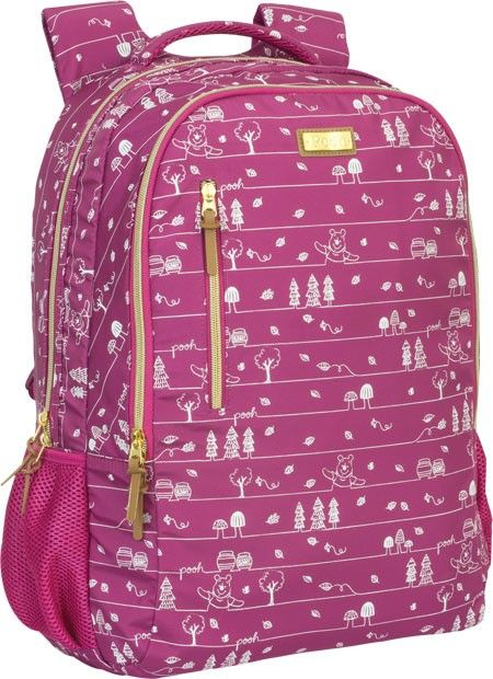 396ddbb07 Mochila de Costas Pooh Luxo - Tilibra | Designer Bags | Bags ...