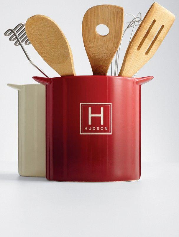 ceramic utensil holder red envelope the great escape indoors rh pinterest co uk red kitchen utensil jar