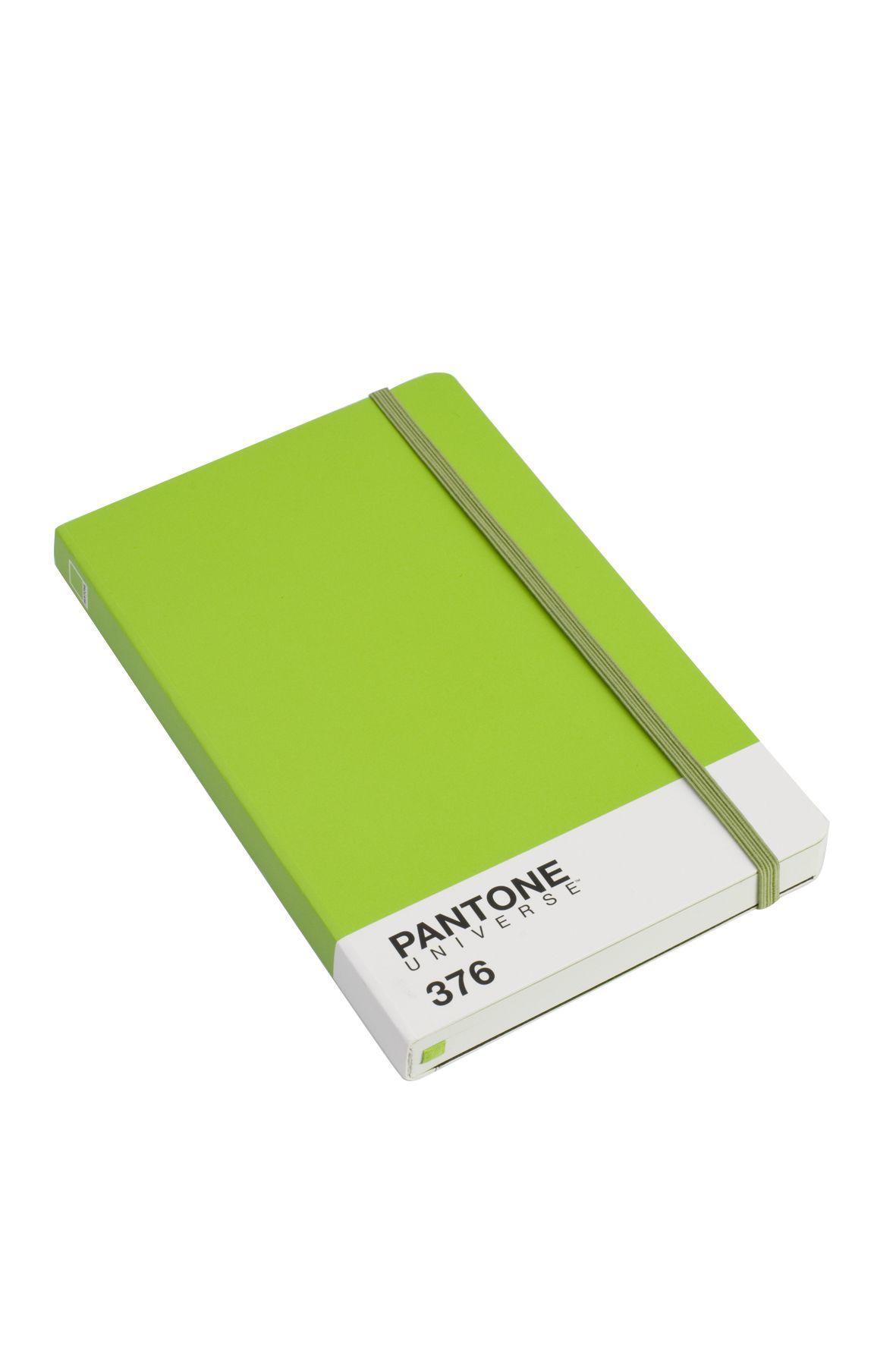 Pantone notebook in Mushy Pea