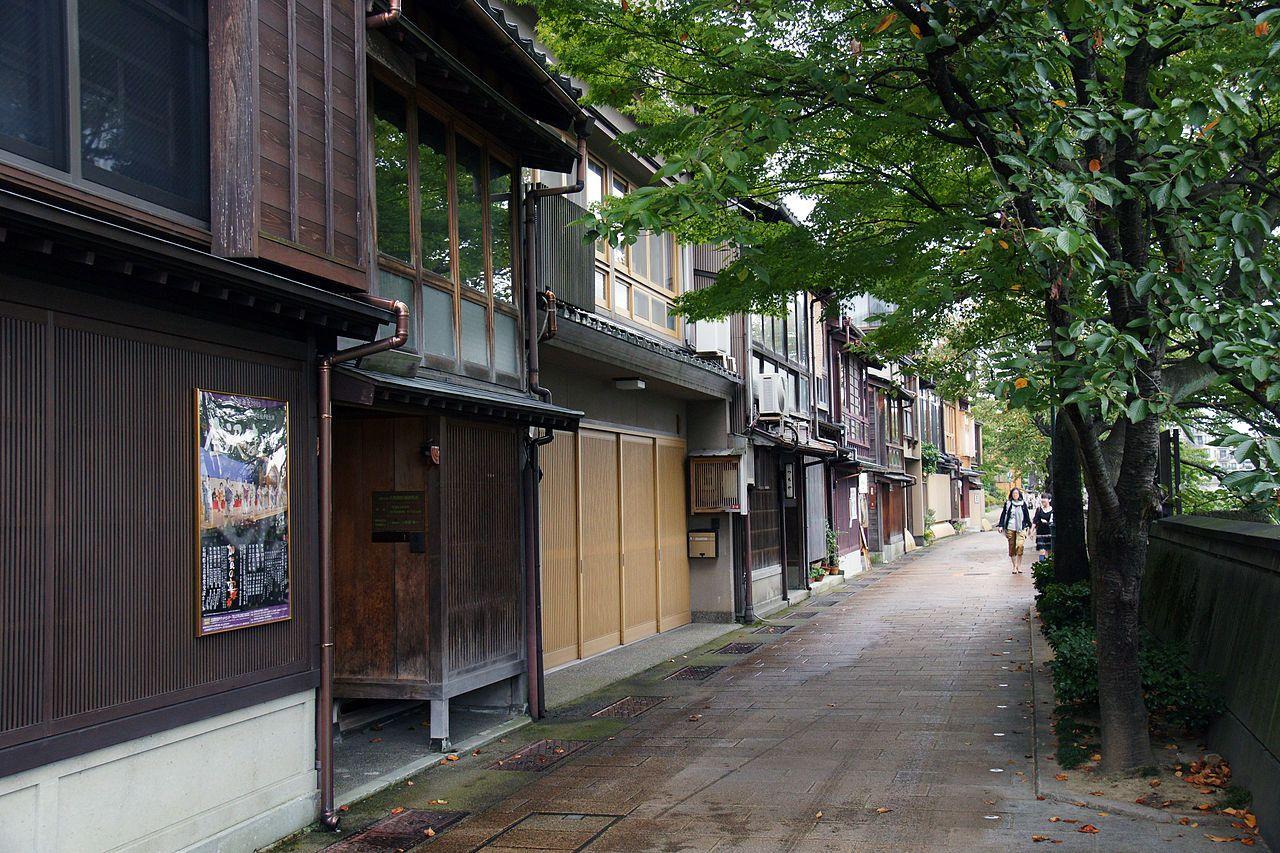 Kazuemachi in Kanazawa