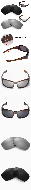 de3f88eddf New Walleva Polarized Black + Titanium Lenses For Oakley Hijinx ...