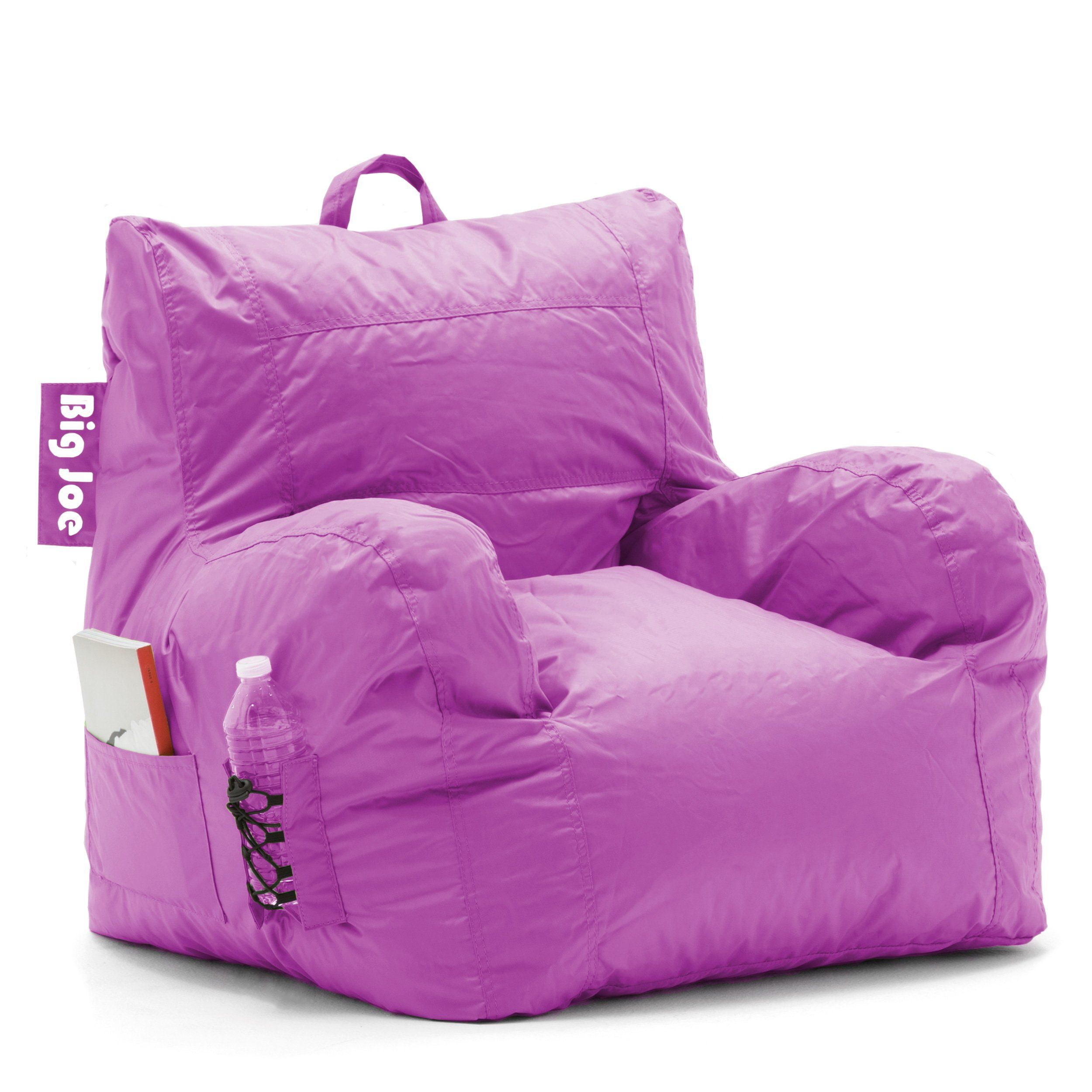 Surprising Big Joe Dorm Bean Bag Chair Radiant Orchid You Can Find Pabps2019 Chair Design Images Pabps2019Com