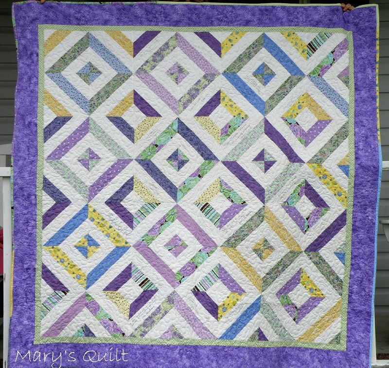 summer in the park quilt. View the youtube tutorial here http ... : youtube quilting ideas - Adamdwight.com