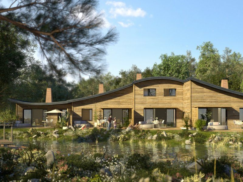 Disneyland Close Historic Calif Bungalow 9: Cottages Villages Nature® Paris Marne La Vallée Center