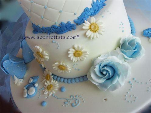 Torta battesimo torta battesimo bimbo torta maschietto bambini pinterest comunione - Decorazioni battesimo bimbo ...