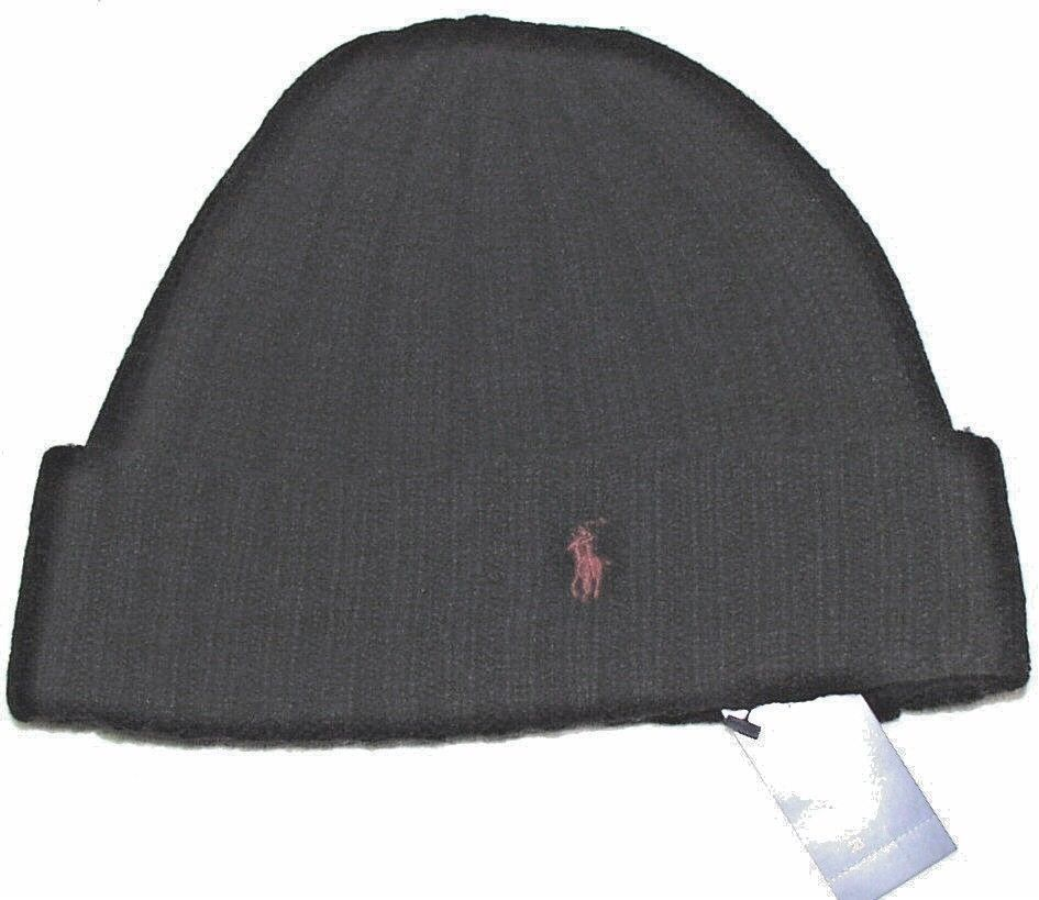 b5c7ac41df9 NWT POLO RALPH LAUREN Black Ribbed Knit Logo Beanie Ski Hat Skull Cap Cuff   fashion  clothing  shoes  accessories  mensaccessories  hats (ebay link)