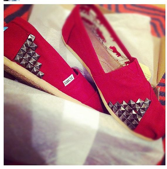 DIY studs on to toms