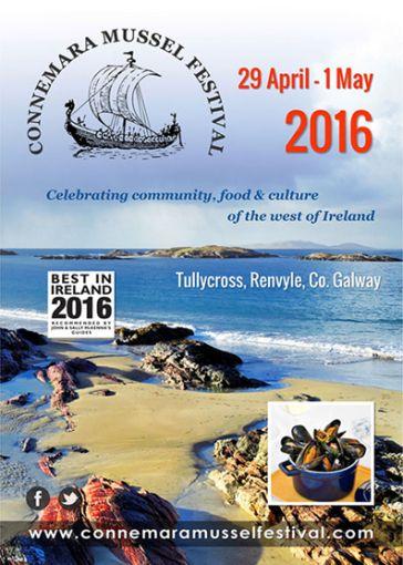 """Nel Connemara fino al 1° maggio nel magnifico scenario offerto dalla Wild Atlantic Way, si terrà la 11° edizione del tradizionale """"Connemara Mussel Festival"""", un festival nato originariamente con l…"""