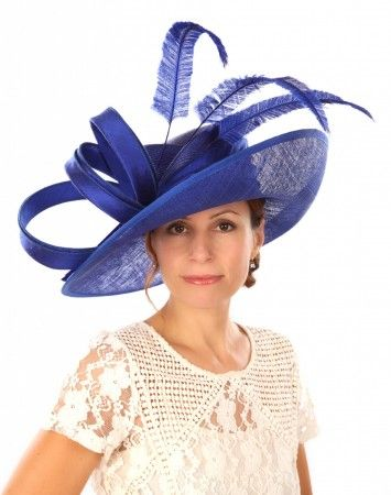 Snoxell Gwyther - Occasion Hat (Royal) - Wedding Hats  d95180b76a3