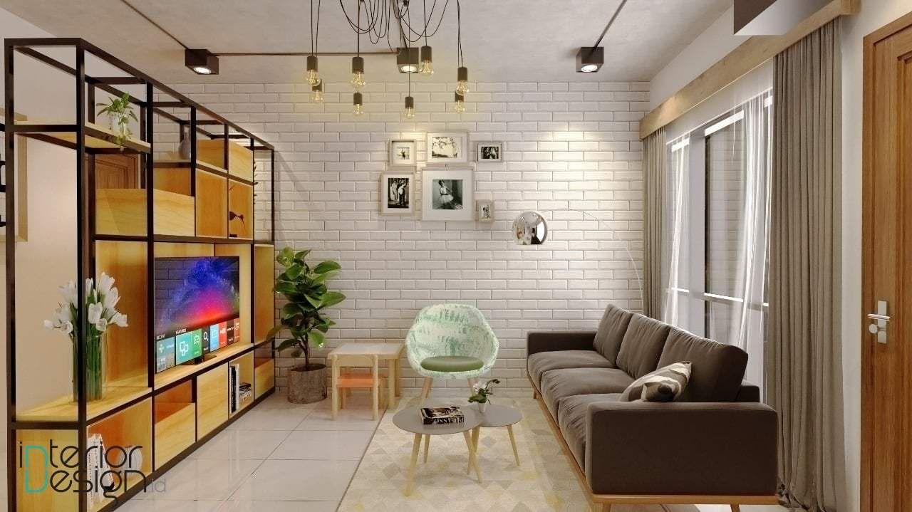Desain Ruang Tamu Dan Ruang Keluarga in 3  Minimalist living