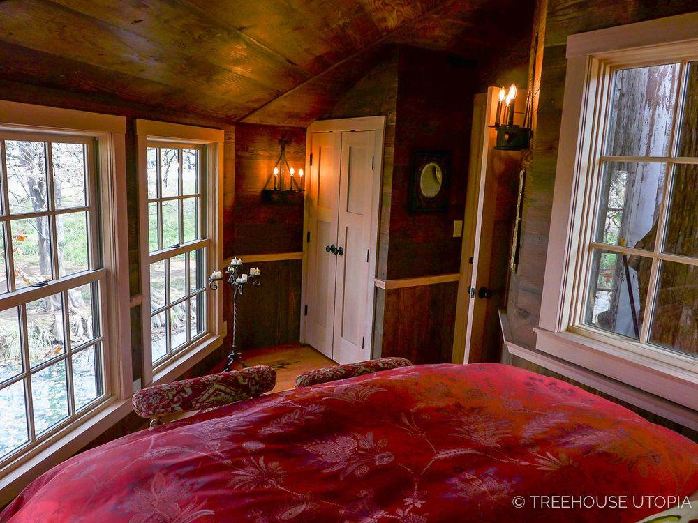 Treehouse Utopia Photo Tour Chapelle Tree house