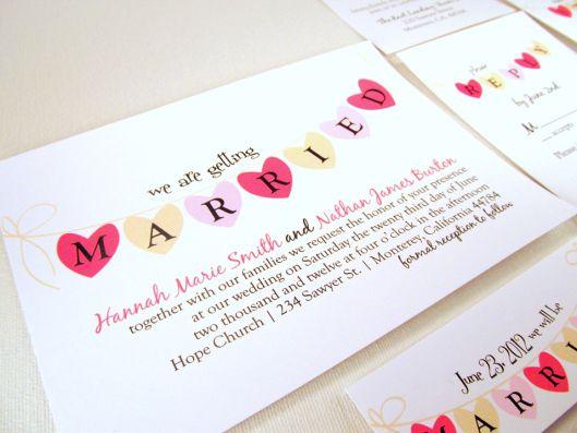 Wedding Invitation Wording Informal: Casual Wedding Invitation Wording Examples