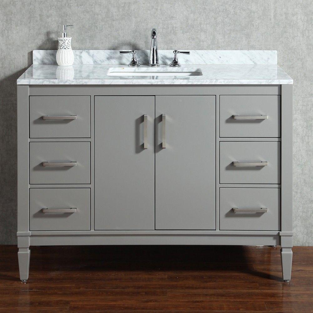 Essence Floor Mount ud Vanity u Freestanding Bathroom Vanities