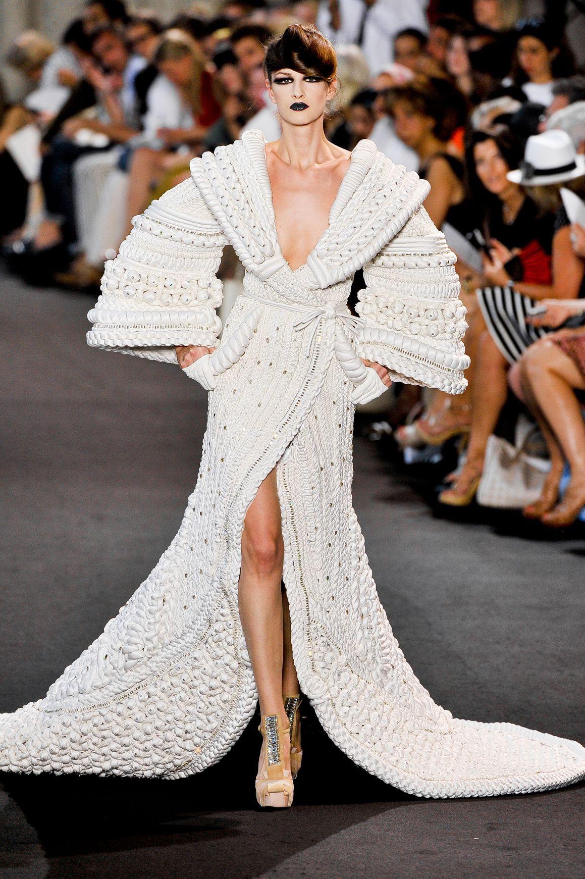 Robe Haute Couture Automne Hiver 2011 2012 De Stephane Rolland