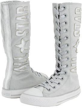 69236bc1867b Converse Kids - Chuck Taylor All Star X-Hi Tall (Little Kid Big Kid)  (Glacier Grey Silver) - Footwear on shopstyle.com