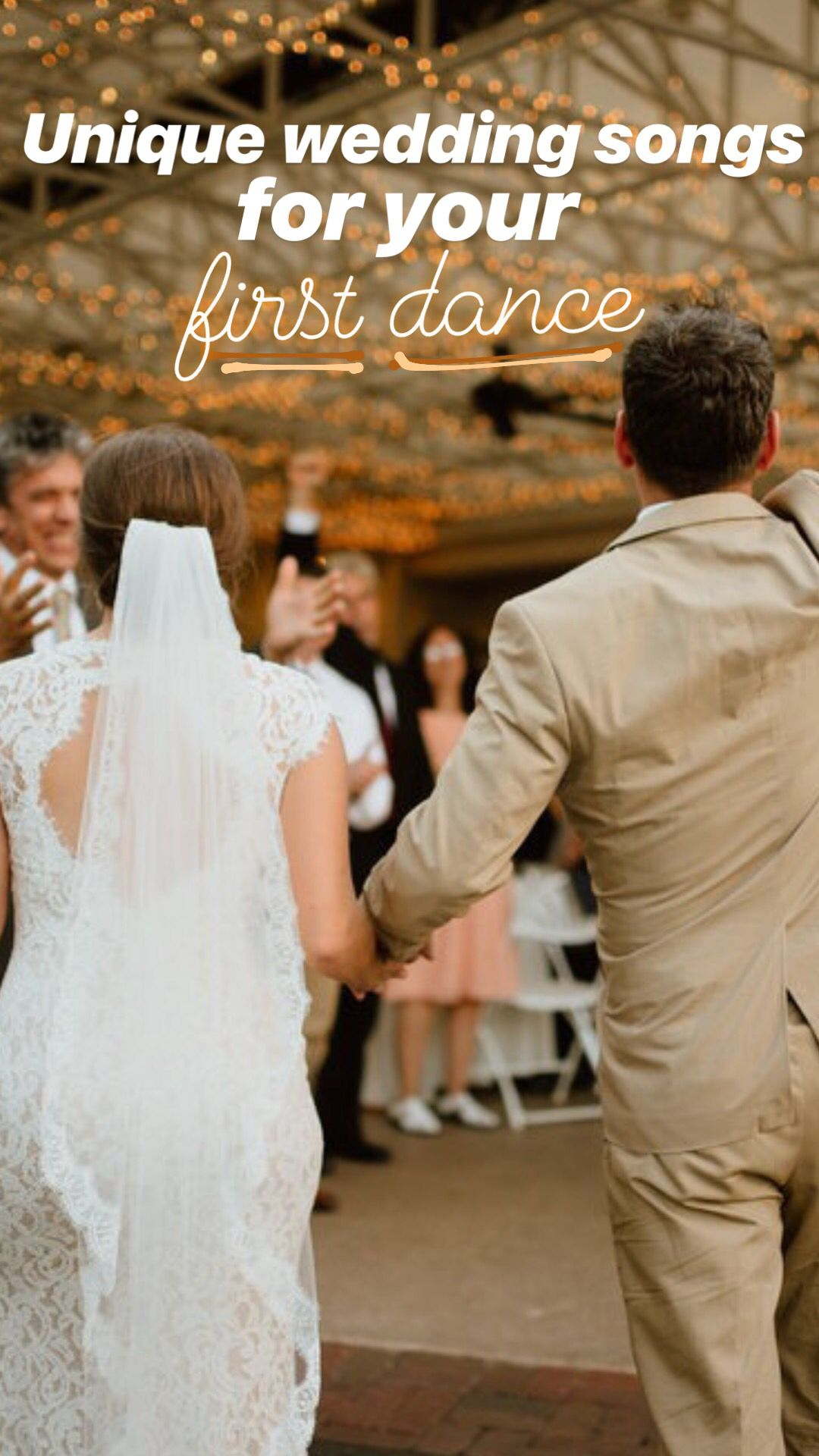 30 unique wedding songs for your first dance as newlyweds