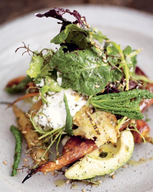 roast carrot & avocado salad with orange & lemon dressing | Jamie Oliver | Food | Jamie Oliver (UK)