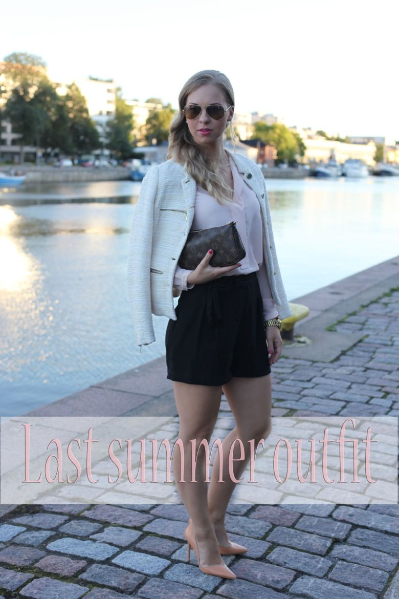 Mona's Daily Style: Last summer outfit