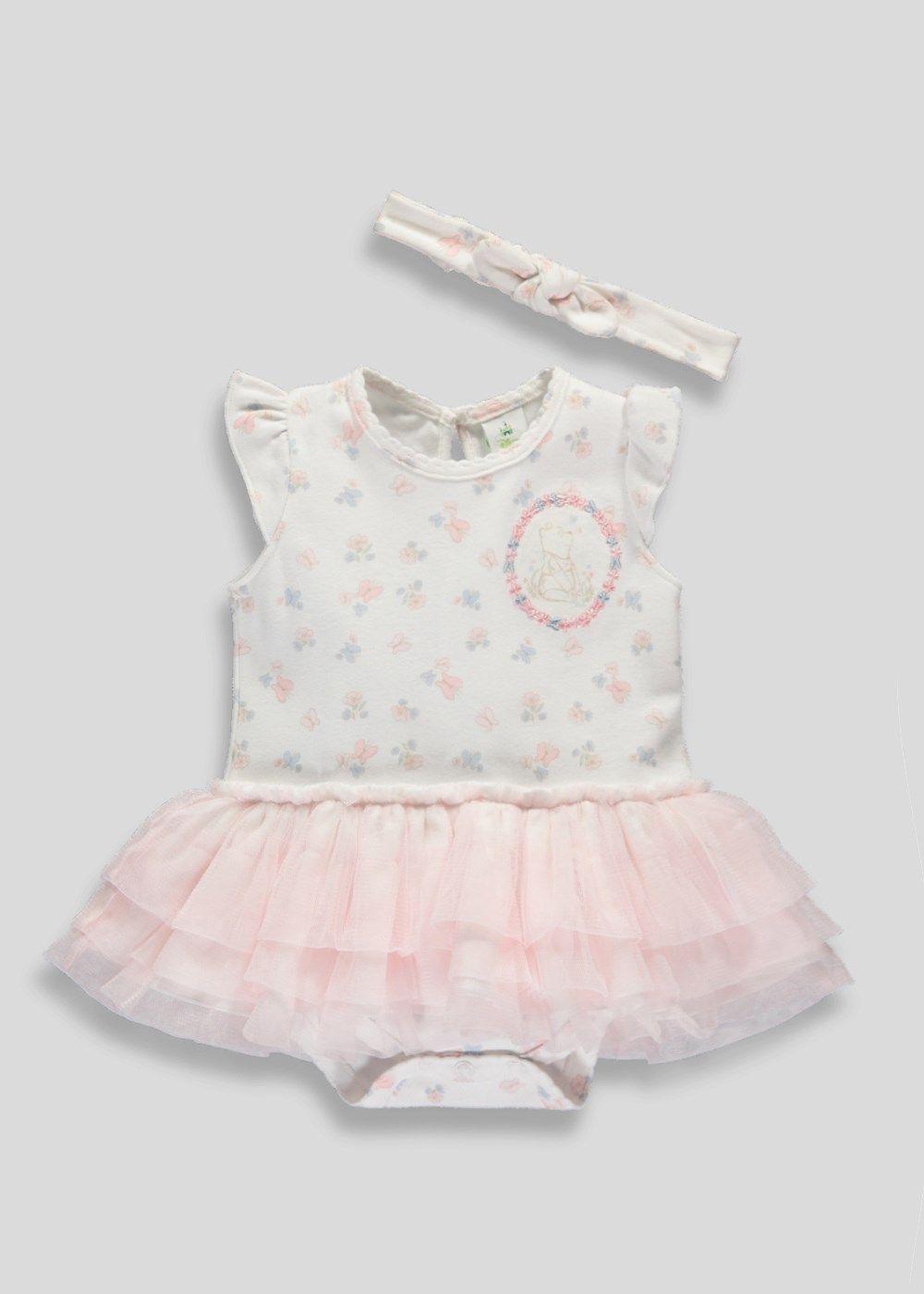b1bffcd4a2d1 Girls Winnie The Pooh Tutu Romper (Tiny Baby-12mths) – Matalan. Kids  Clothing GirlsPink TutuBaby NewbornGirls ...