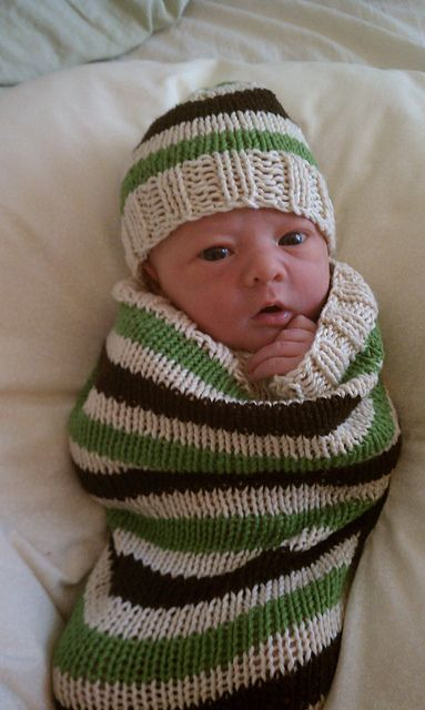 The finished product(s)- a cap, a cocoon and a twig! | knitting ...