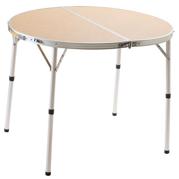 Coleman Folding Round Camp Table Kitchen Tea Camping Table