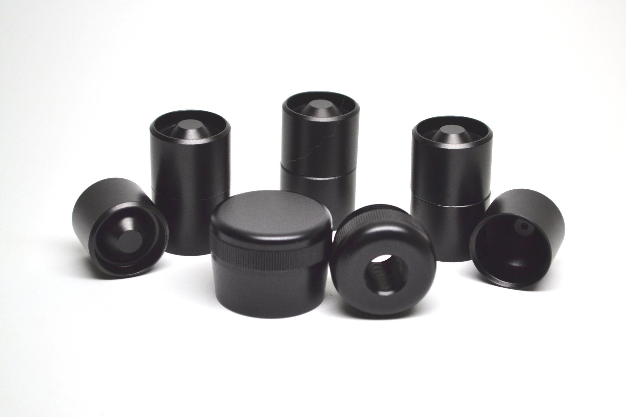D Cell Maglite Replacement or Protective Combo Threaded End Caps 1//2-28 034//080