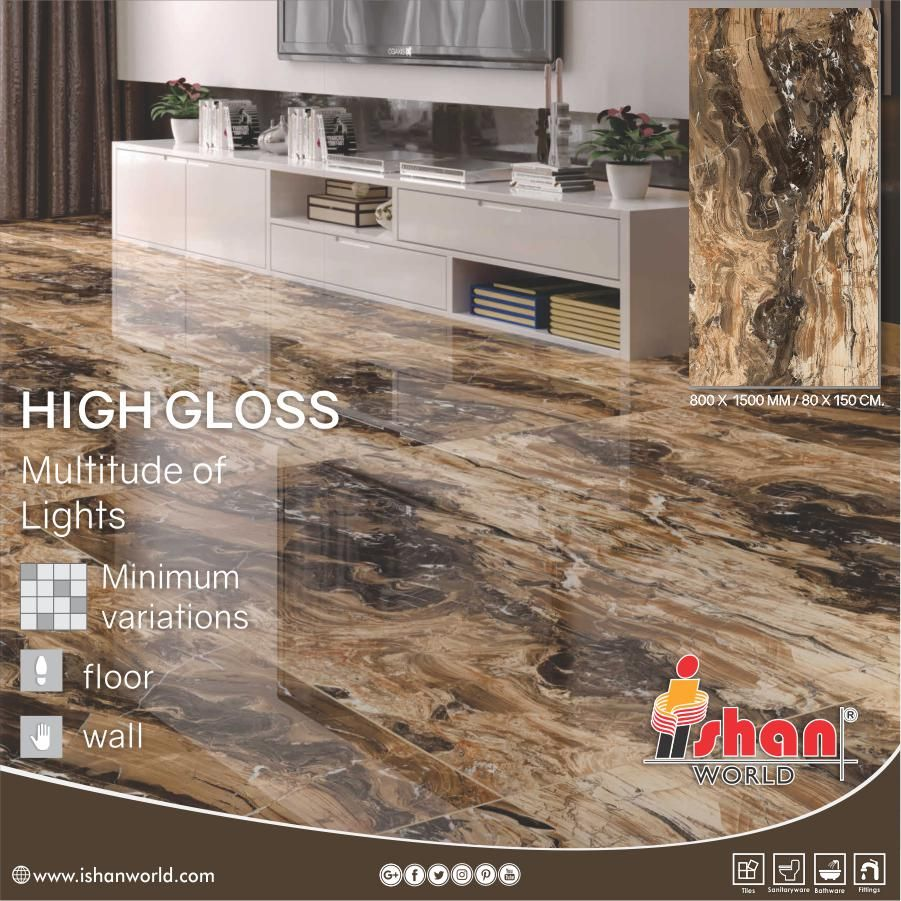 Upcoming New Tile In 800x1500 Mm Pgvt For Your Home Wall Floor