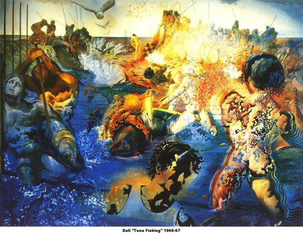 Salvador Dali- Tuna Fishing | Group Art Board | Pinterest ...