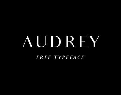 Audrey Free Typeface - sophisticated and modern | Typography