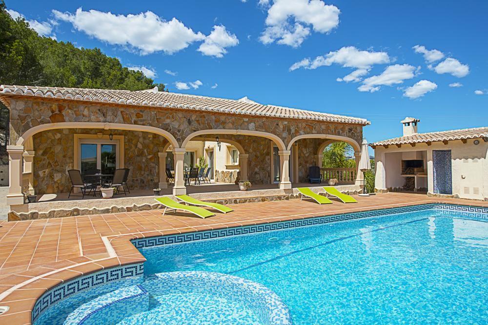 Holiday Home Calpe Costa Blanca Villa Spain For Rent Villa Noa