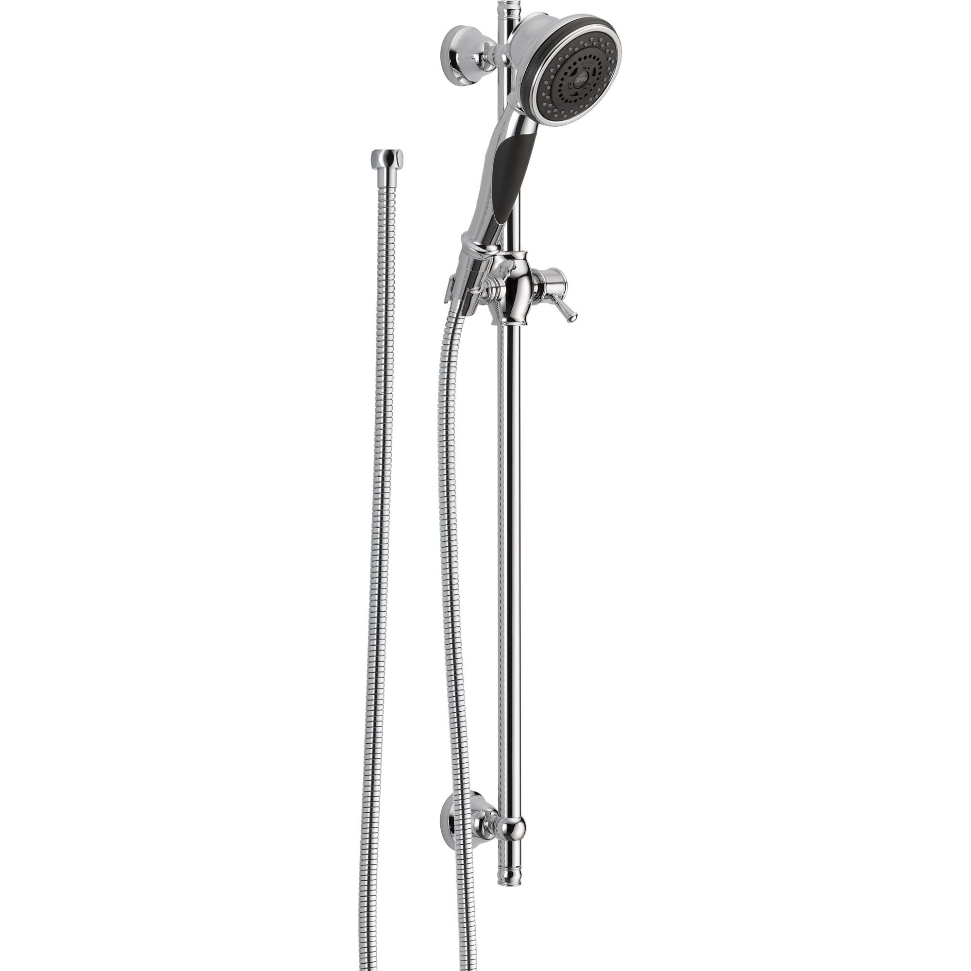 Delta 3 Spray Wall Mount Slide Bar With Personal Handheld Shower Head 527716