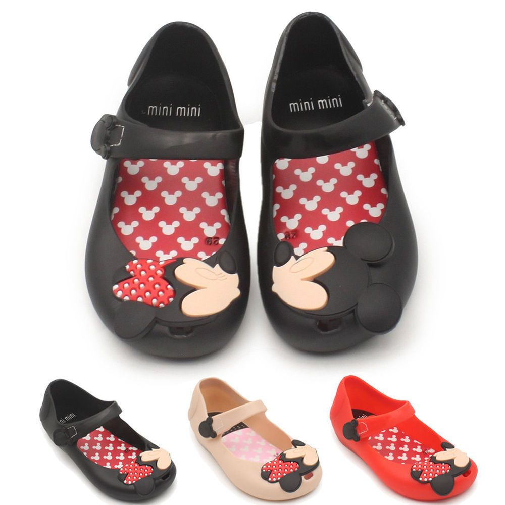 7f954865e65e Jelly Shoes Cartoon Mickey Minnie mouse Sandals Kids Girl Toddler mini Cute  New