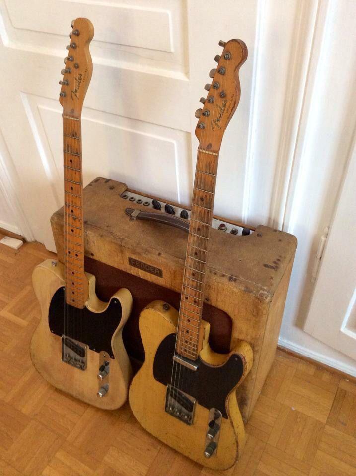 Original 1950 S Fender Telecasters Musical Instruments