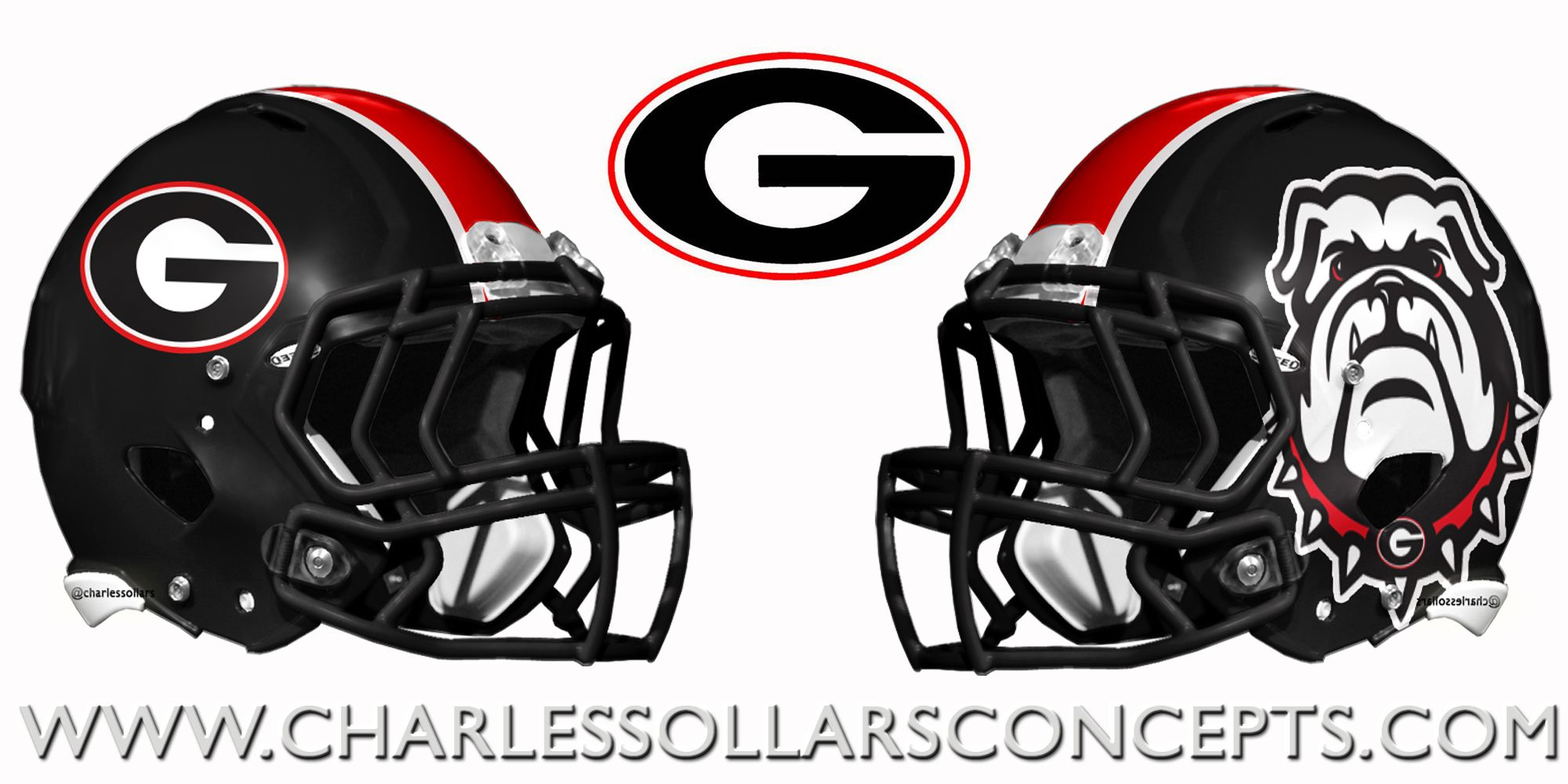 Georgia Bulldogs Helmet Concepts Georgia Bulldogs Football
