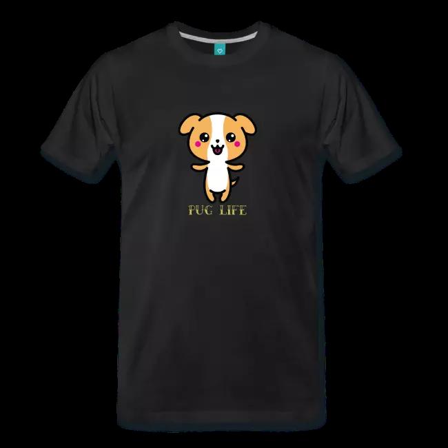 Pug life sweet pug cute Dog Design | Männer Premium T