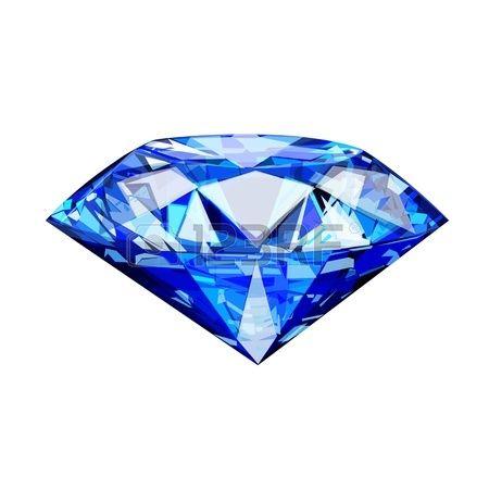 Single Blue Diamond Blue Diamond Jewelry Diamond Tattoo Designs Diamond Picture