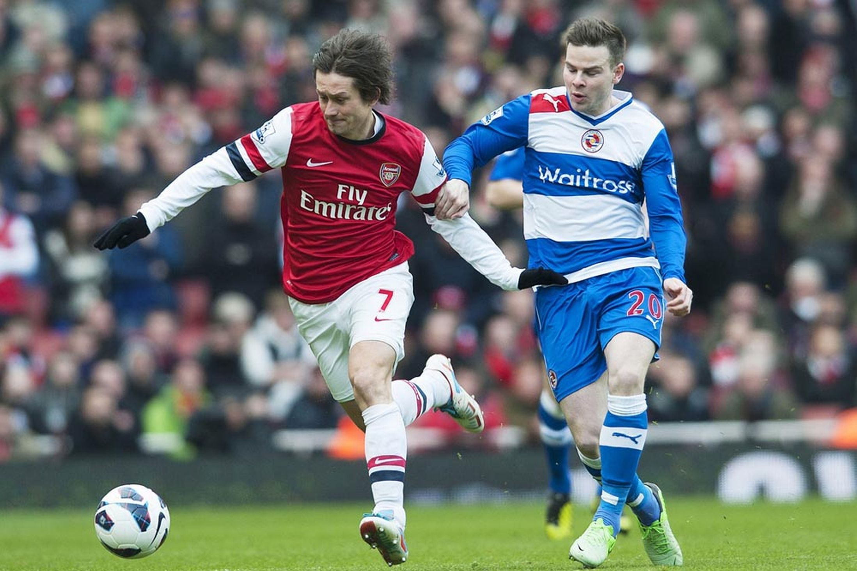 Arsenal 4-1 Reading match report: Gervinho, Cazorla, Giroud and Arteta goals second Royals bottom of the league - Mirror Online