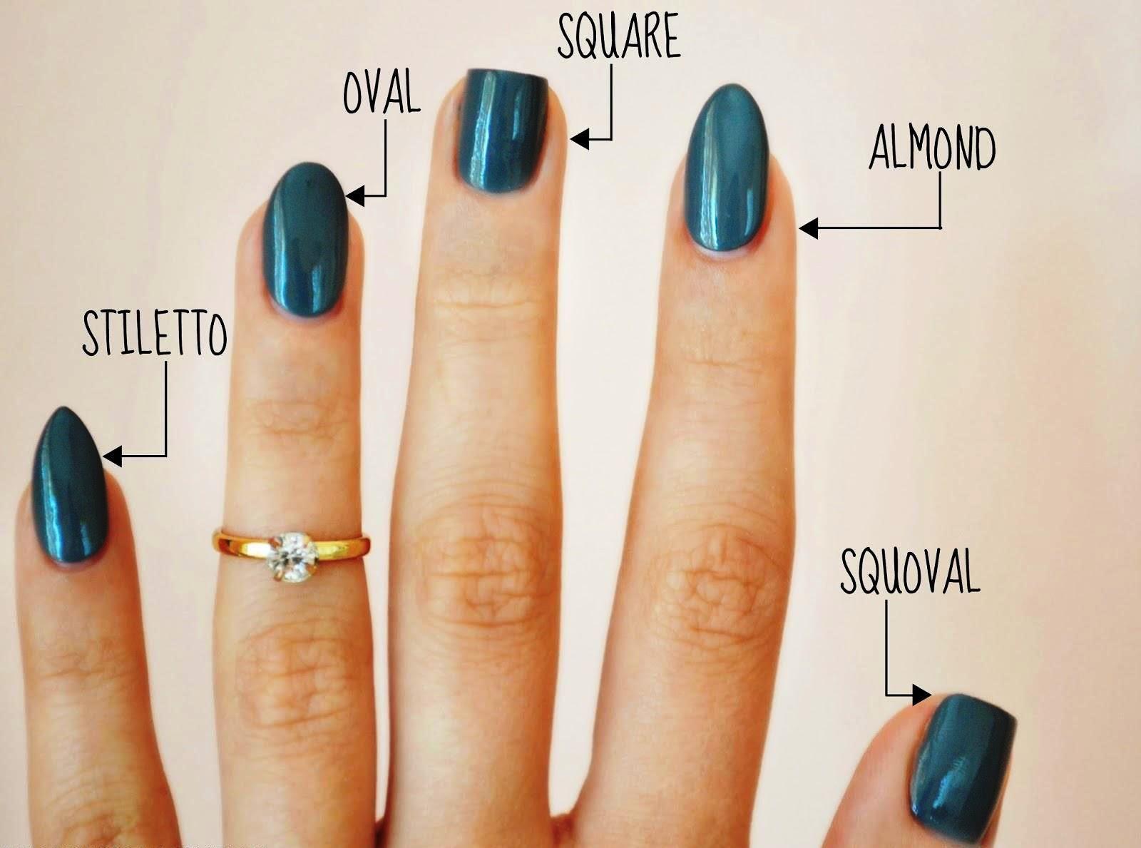 Various Nail Shapes Nails Nailsart Nailart Oakbay Victoriabc Yyj