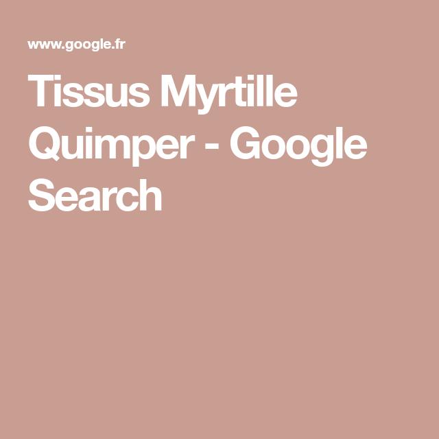 tissus myrtille quimper france 29000