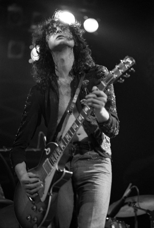 Jimmy page solo white summer dress