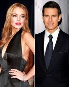Huh? Lindsay Lohan denies any involvement in the Vanity Fair article over Tom Cruise + Scientology
