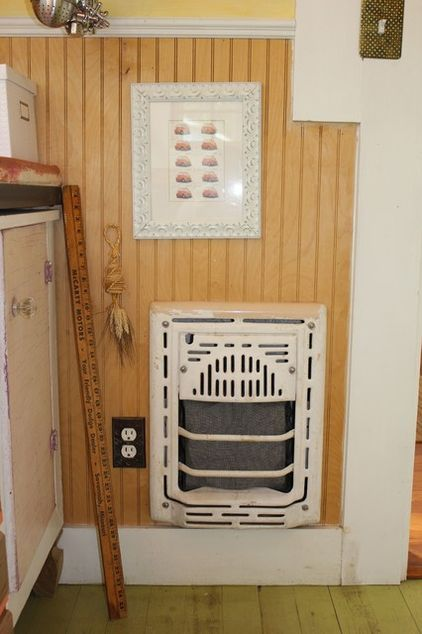 This Homeowner Turned A Pair Of Old Fashioned Gas Heater