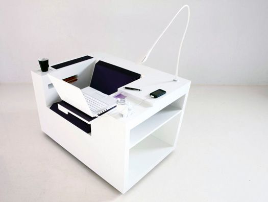 Reminiscent Of A Joe Colombo Design Piece, Patricia Terrazas And Michael  Svaneu0027s U0027Four Works. Work StationsOffice Desk ChairsOffice ...